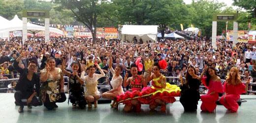 บลูเบอร์รี่, กระแต, กระต่าย, แมน มณีวรรณ, ลูลู่, ลาล่า, อาร์สยาม, Thai Festival 2015, ญี่ปุ่น