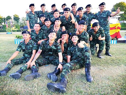 เบิ้ล-ปทุมราช-เพื่อนพลทหารร่วมรุ่น